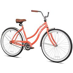 Pedal Chic 26' Coral Crush Cruiser Bike