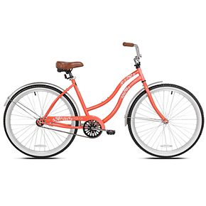 "Pedal Chic 26"" Coral Crush Cruiser Bike"