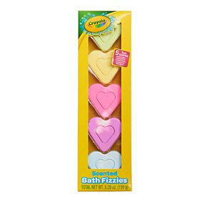 Crayola Craonys 5-pack Scented Bath Fizzies
