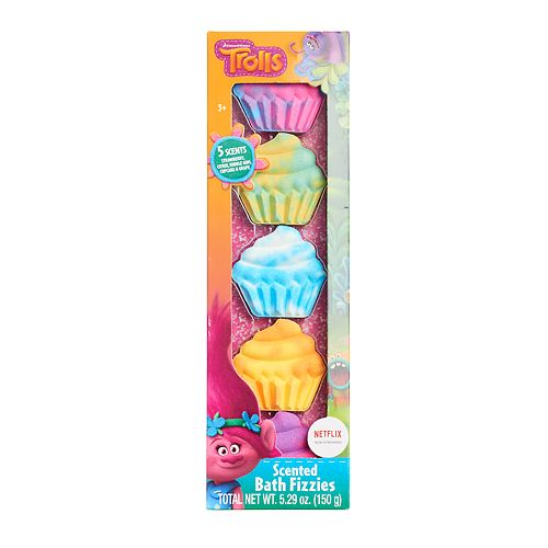 DreamWorks Trolls 5-pack Scented Bath Fizzies