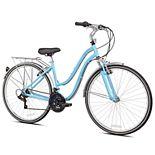 Pedal Chic 700C Invigorate Hybrid Bike - Light Blue Size 14