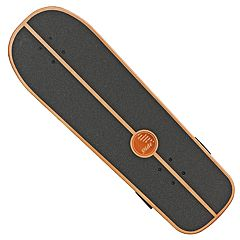 Slide Street Surf Skateboard Black Sox 31'