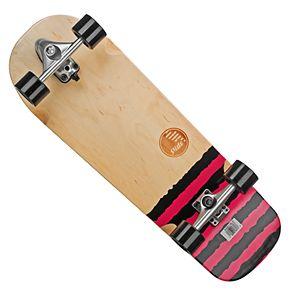 "Slide Street Surf Skateboard Black Sox 31"""