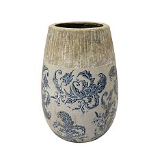 SONOMA Goods for Life™ Distressed Floral Vase Table Decor