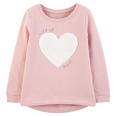 Baby Girl Carter's Graphic Fleece Top