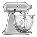 KitchenAid KSM105GBCMC 5-qt. Tilt-Head Stand Mixer with Glass Bowl