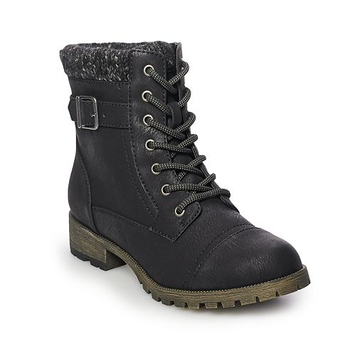 Now or Never State Women's Combat Boots