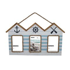 SONOMA Goods for Life™ Nautical House 3-Opening Collage Frame