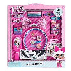 Girls L.O.L. Surprise! 50-piece Hair Accessory Set