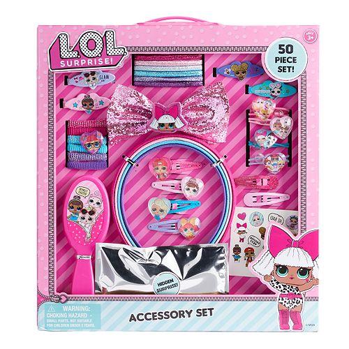 Girls L.O.L. Surprise! 50-piece Hair Accessory Set