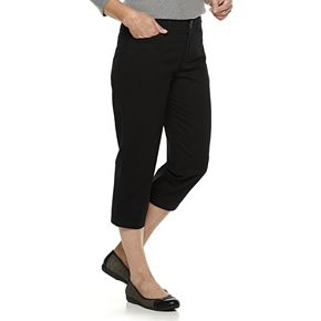 Women's Croft & Barrow® Classic Stretch Twill Capris