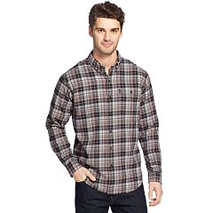 Men's G.H. Bass Fireside Classic-Fit Plaid Flannel Button-Down Shirt