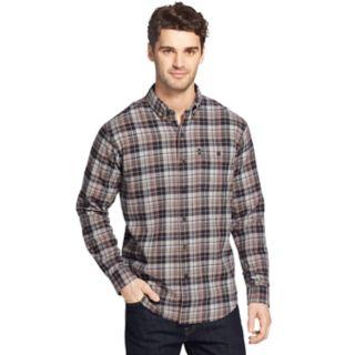 Men's G.H. Bass Fireside Classic-Fit Plaid Flannel Button-Down Shirt