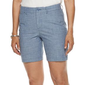 Women's Croft & Barrow® Classic Stretch Shorts