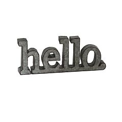 SONOMA Goods for Life™ 'Hello' Table Decor