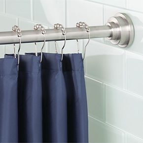 Interdesign Astor Constant Tension Bathroom Shower Curtain Rod