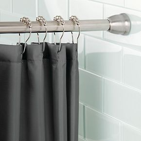 Interdesign Forma Ultra Constant Tension Bathroom Shower Curtain Rod