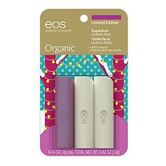 eos Organic 3-Pack Lip Balm Stick