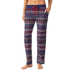 Women's Cuddl Duds Printed Fleece Pajama Pants