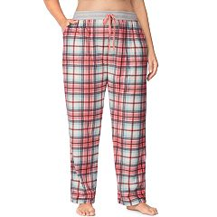 Plus Size Cuddl Duds Printed Fleece Pajama Pants