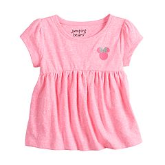 Disney's Minnie Mouse Baby Girl Embroidered Babydoll Top by Jumping Beans®