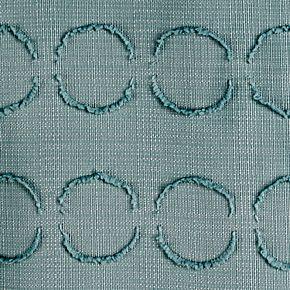 Saturday Knight, Ltd. Clipped Circles Shower Curtain