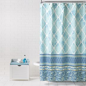 Saturday Knight, Ltd. Boho Paisley Shower Curtain