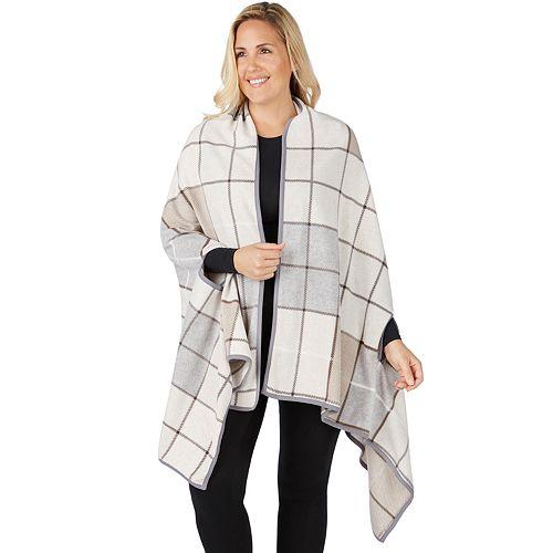 Plus Size Cuddl Duds Blanket Wrap