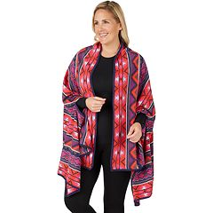 Plus Size Cuddl Duds Blanket Wrap