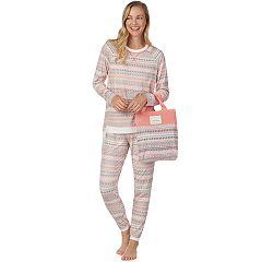 Women's Cuddl Duds Pajamas-in-a-Bag Pajama Set