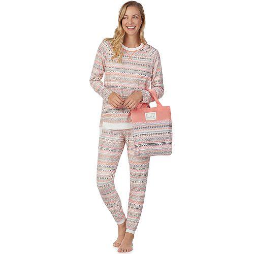 Women's Cuddl Duds Pajamas-in-a-Bag Pajama Set