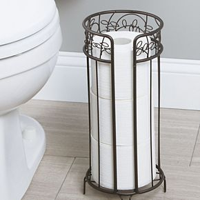 Interdesign Twigz Free-Standing Bathroom Toilet Paper Roll Reserve