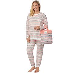 Plus Size Cuddl Duds Pajamas-in-a-Bag Pajama Set