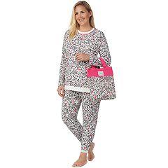 Plus Size Cuddl Duds Pajamas-in-a-Bag Pajama Set