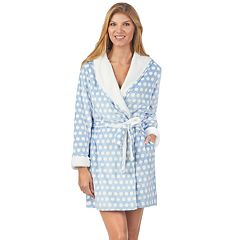 Women's Cuddl Duds Hooded Fleece Robe