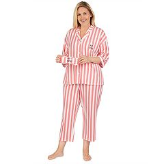 Plus Size Cuddl Duds 3-piece Printed Pajama Set