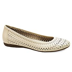 3534a64352a8 Croft   Barrow® Women s Perforated Flats