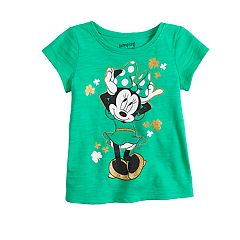 Disney's Minnie Mouse Baby Girl St. Patty's Day Tee by Jumping Beans®