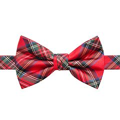 Men's Christmas Patterned Bow Tie