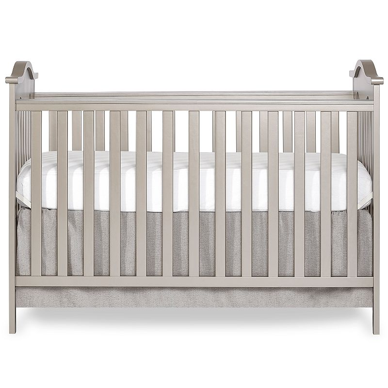 Dream On Me Bella Rose Convertible Crib in Gold Dust