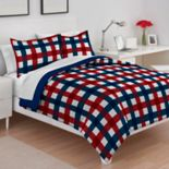 IZOD Buffalo Check Comforter Set