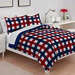 IZOD Buffalo Check Comforter Set