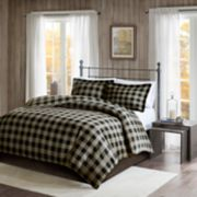 Woolrich Flannel Check Print Duvet Cover Set