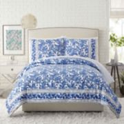 Makers Collective 3-piece Blue Bird Duvet Cover Set