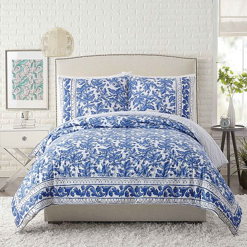 Makers Collective Molly Hatch Blue Bird Duvet Cover Set