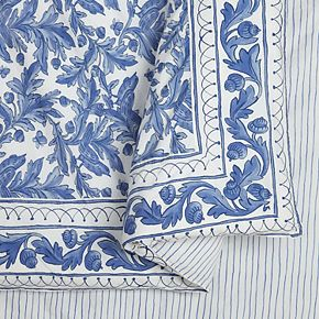 Makers Collective 3-piece Blue Bird Duvet Cover Set