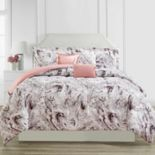 CosmoLiving by Cosmopolitan Marble Printed 6-piece Comforter Set