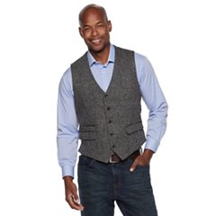 Men's Jean-Paul Germain Irish Tweed Vest
