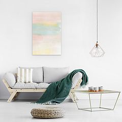 Artissimo Pastel Dream Canvas Wall Art