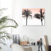 Artissimo St. Clair Palm Tree Canvas Wall Art